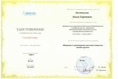 Удостоверение 0553 Костюхина О.С.